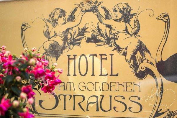 Akzent Hotel Am Goldenen Strauss - фото 16