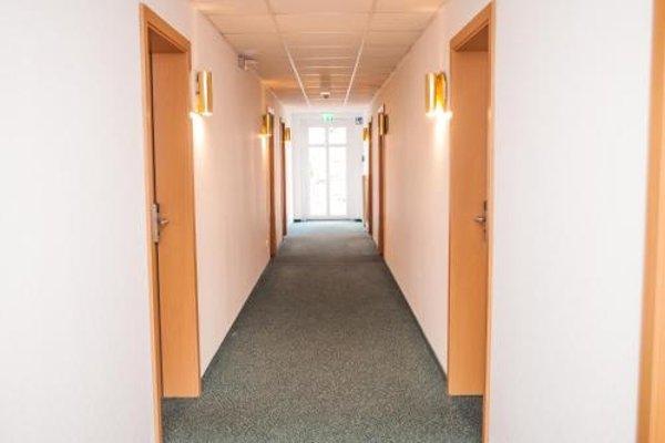Hotel Stadt Gehrden - фото 16