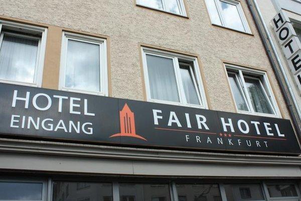 Fair Hotel Europaallee - фото 19