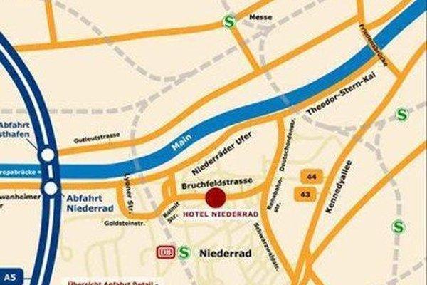 Hotel Niederrad - фото 12
