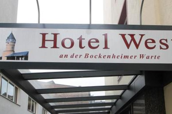Hotel West an der Bockenheimer Warte - фото 21