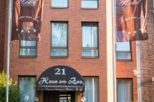 Hotel Haus am Zoo - фото 16