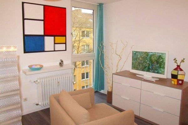 Business meets Dusseldorf Apartments - фото 6