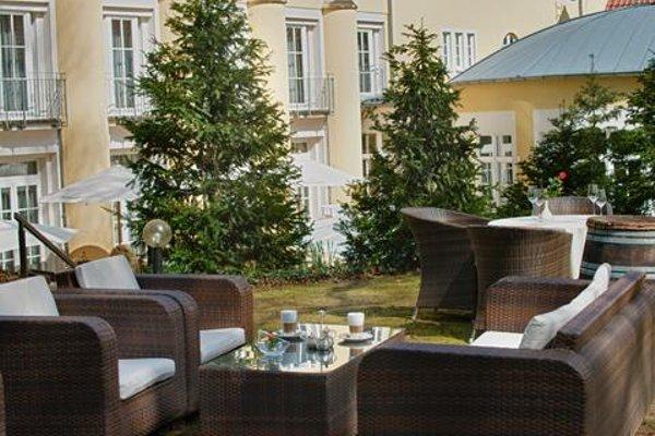 Hotel Villa Weltemuhle Dresden - фото 18