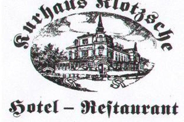 Hotel - Restaurant Kurhaus Klotzsche - фото 7