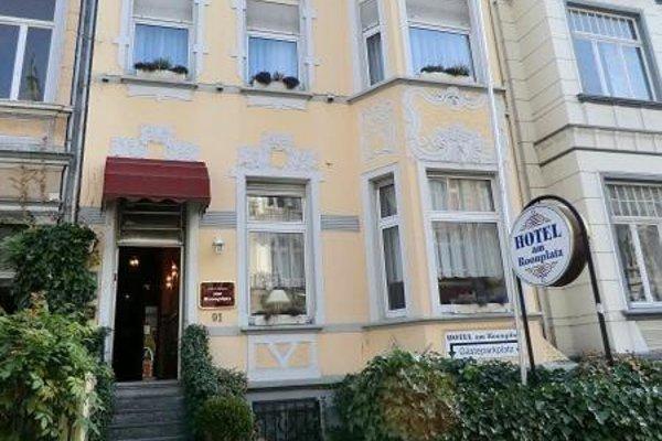 Hotel Am Roonplatz - фото 22