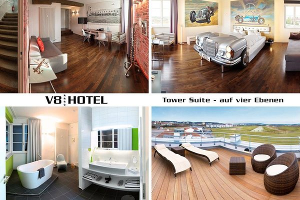V8 Hotel Motorworld Region Stuttgart - фото 4