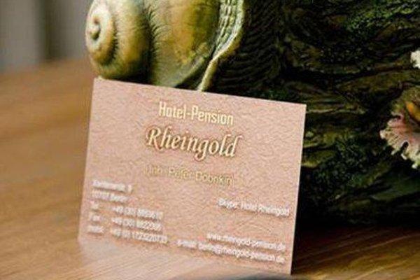 Hotel-Pension Rheingold am Kurfurstendamm - фото 19