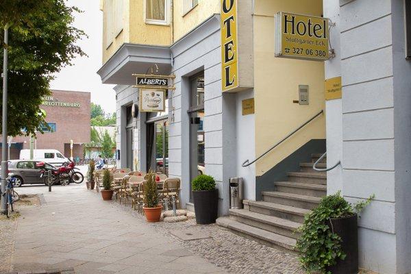 Hotel Am Stuttgarter Eck - фото 23