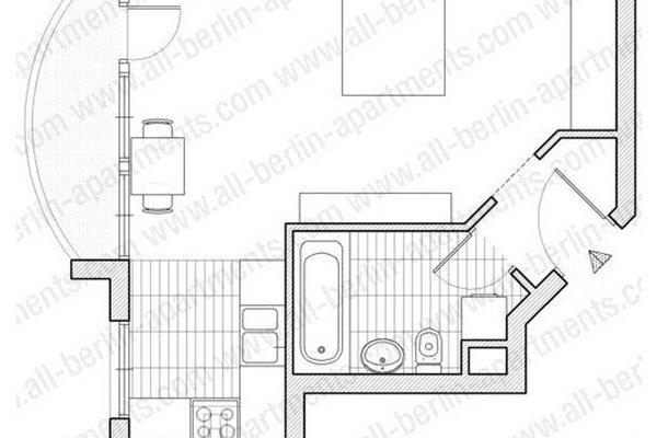 Berlin Habitat Furnished Apartments City Centre - 3