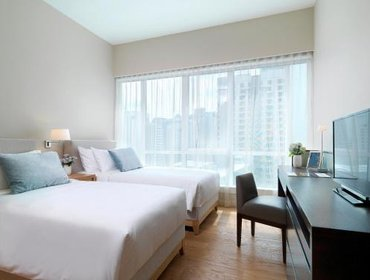 Гестхаус Lanson Place Bukit Ceylon Serviced Residences