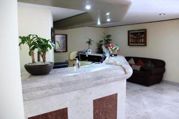 Hotel Tehuacan Plaza - фото 15