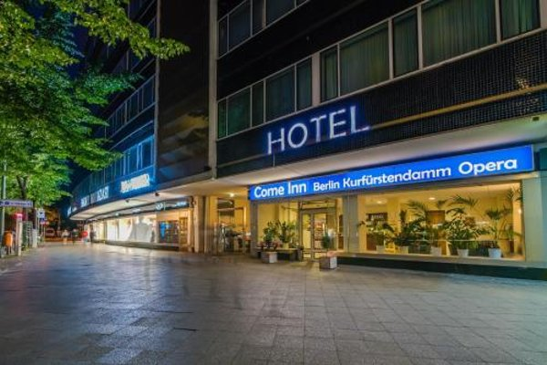 Come Inn Berlin Kurfurstendamm - фото 14