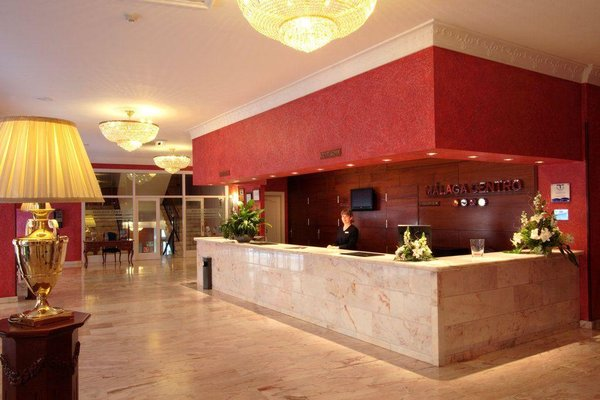 Salles Hotel Malaga Centro - фото 13
