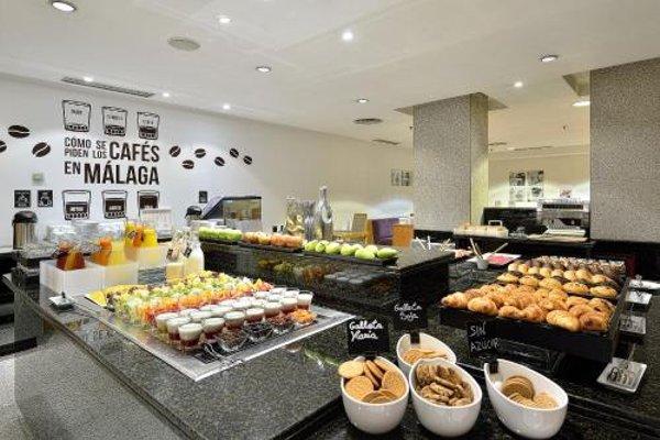 Tryp Malaga Alameda Hotel - фото 9