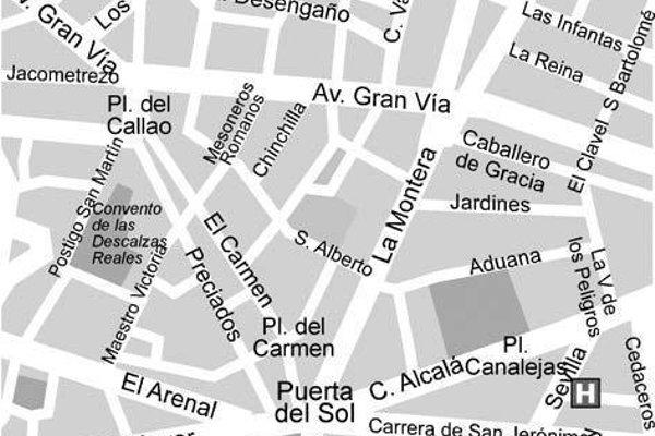 Отель Quatro Puerta del Sol - фото 13