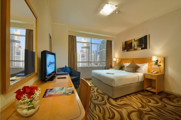Oaks Liwa Heights Hotel Apartments - фото 11