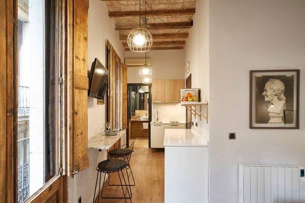AinB Gothic-Jaume I Apartments - фото 12