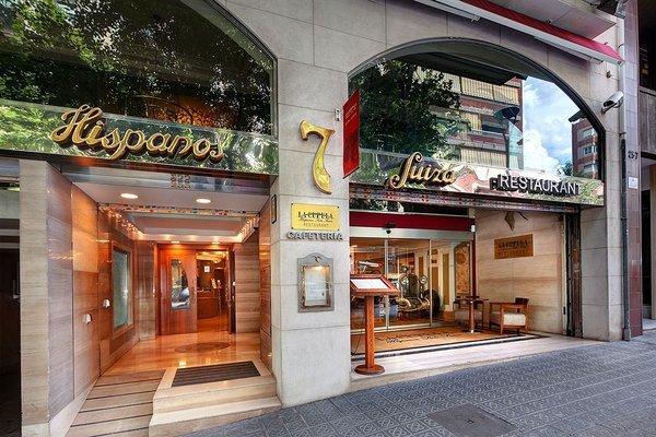 Apartaments-Hotel Hispanos 7 Suiza - фото 23
