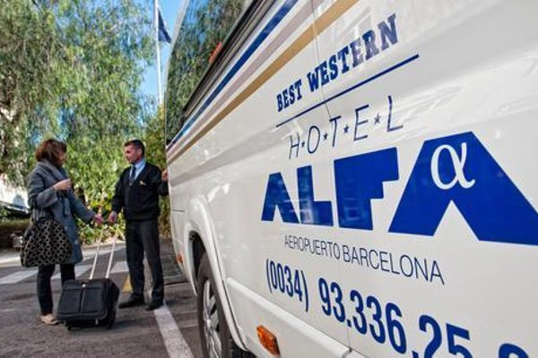 Hotel Best Western PLUS Alfa Aeropuerto - фото 22