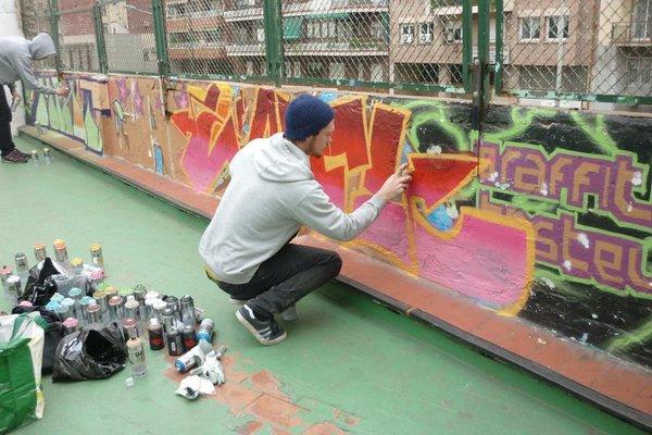No Limit Hostel Graffiti - 19