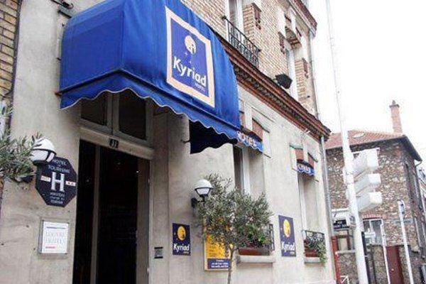 Hotel Arc Paris Porte d'Orleans - фото 20