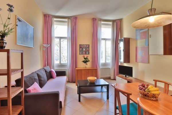 Wonderful apartment in Vinohrady - фото 19