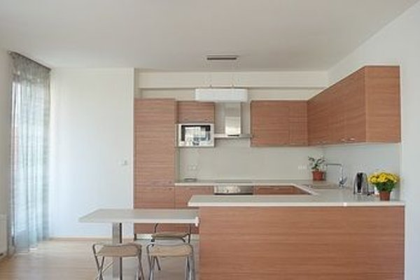 Bright spacious apartment - фото 23