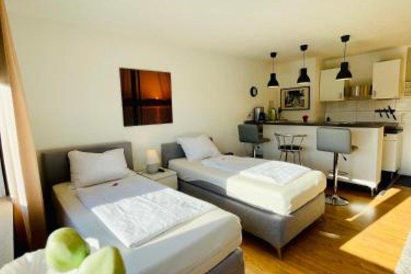 Design Apartment am Rhein und Messe - фото 15
