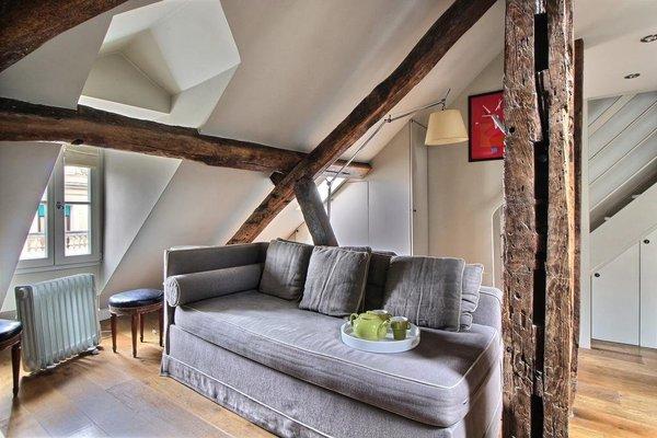 Appartement Duplex Louvre - фото 29