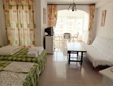 Апартаменты Apartamentos Intercentro Algarrobo-Costa