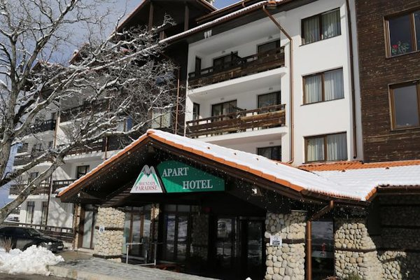 Mountain Paradise by the Walnut Trees Aparthotel - фото 22