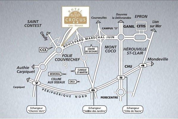 Hotel Crocus Caen Memorial - фото 6