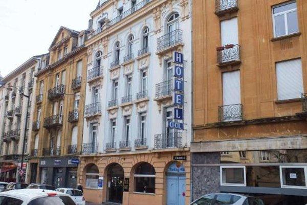 Comfort Hotel Cecil Metz Gare - фото 21
