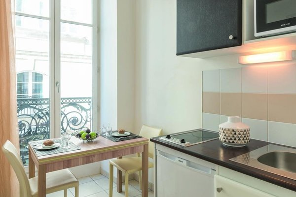 Appart'City Confort Nantes Centre (ех. Park & Suites Elegance Nantes Carre Bouffay) - 12