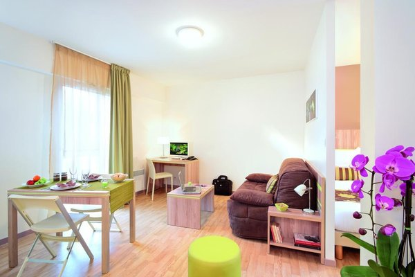 Appart'City Confort Nantes Centre (ех. Park & Suites Elegance Nantes Carre Bouffay) - 8
