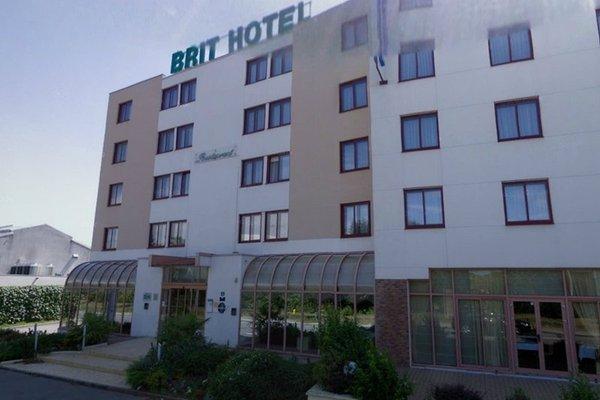 Brit Hotel Nantes La Beaujoire - L'Amandine - 22