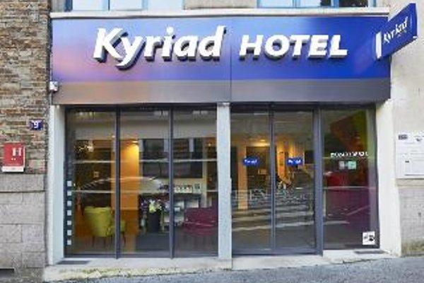 Kyriad Nantes Centre Graslin - фото 21
