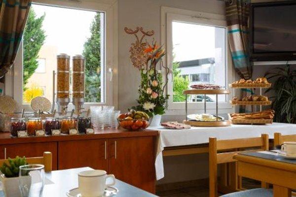 Hotel Roi Soleil Strasbourg Mundolsheim - фото 12