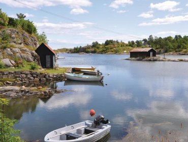 Гестхаус Holiday home Tvedestrand 58