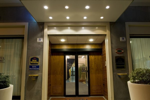 Best Western Hotel Mediterraneo - фото 16