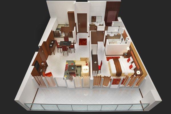 Flora Park Deluxe Hotel Apartments - фото 23