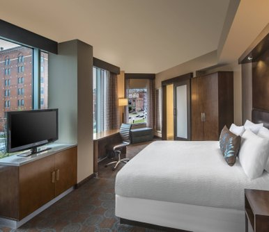 โรงแรม SpringHill Suites by Marriott Denver Downtown
