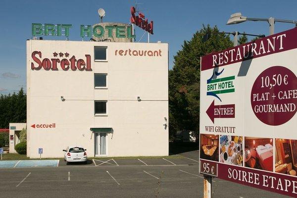 Brit Hotel Bordeaux Aeroport - Le Soretel - фото 22