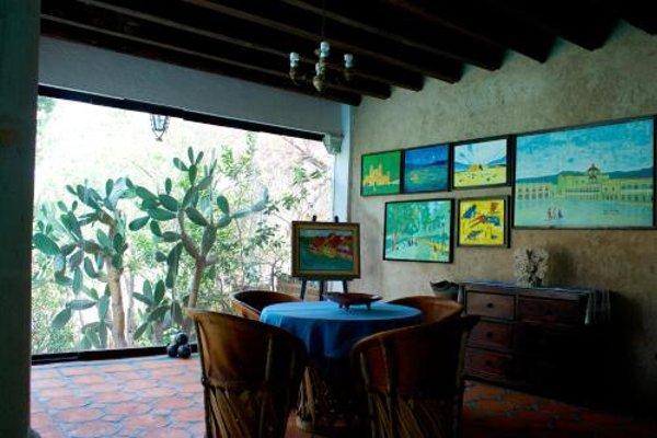 Hotel Villa Oaxaca - фото 17