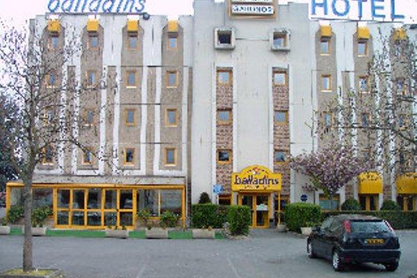 Hotel Balladins Aulnay Garonor - фото 23