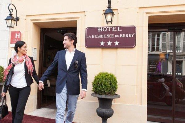Hotel la Residence Du Berry - фото 23