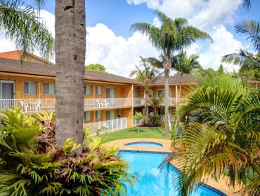 Апартаменты Beachpark Apartments Coffs Harbour
