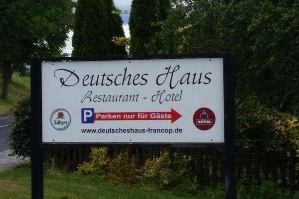 Hotel Deutsches Haus Francop - фото 21