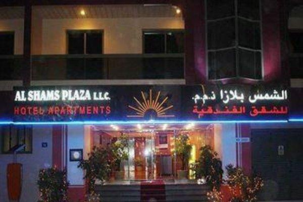 Al Shams Plaza Hotel Apartments - фото 19